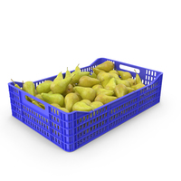 Pear in Plastic Crate PNG & PSD Images