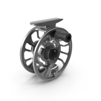 Steel Fly Reel PNG & PSD Images