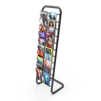 Magzine Stand PNG & PSD Images