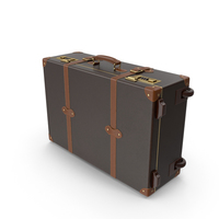 Modern Leather Suitcase PNG & PSD Images