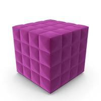 Buzzicube 3D Buzzispace Pouf PNG & PSD Images