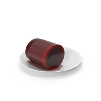 Canned Cranberry Sauce PNG & PSD Images