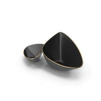 Black Designer Vase Bowl Set PNG & PSD Images