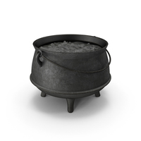 Pot with Boiling Water PNG & PSD Images