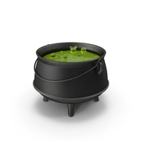 Pot with Potion PNG & PSD Images