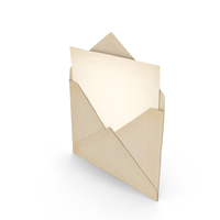 Envelope and Paper PNG & PSD Images