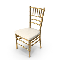 Wedding Chair Golden PNG & PSD Images