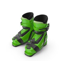 Elan Kids Alpine Ski Boots PNG & PSD Images