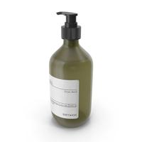 Meraki Body Wash Green Bottle PNG & PSD Images