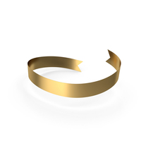 Gold Banner PNG & PSD Images