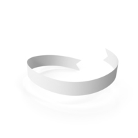 White Banner PNG & PSD Images