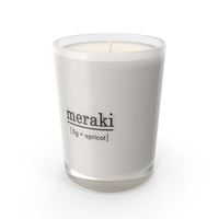Meraki Scented Candle PNG & PSD Images