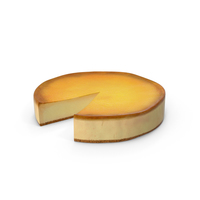 New York Style Cheesecake PNG & PSD Images