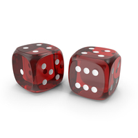 Red Dice PNG & PSD Images