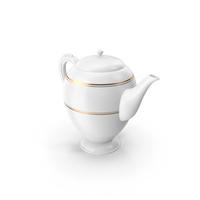 Porcelain Tea Pot PNG & PSD Images