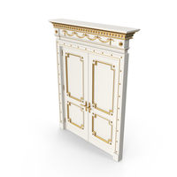 Luxurious Double Doors PNG & PSD Images
