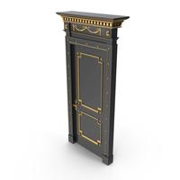 Luxury Door Black PNG & PSD Images