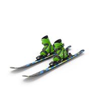 Elan Skis' Maxx Kid's Skis Turning PNG & PSD Images