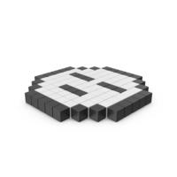 Pixelated Sleep Emoji PNG & PSD Images