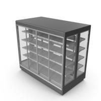 Supermarket Freezer PNG & PSD Images