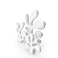 Abstract Cactus Statuette PNG & PSD Images