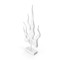 Cold Flame Figurine PNG & PSD Images