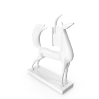 Horse Sculpture of the God Ra PNG & PSD Images