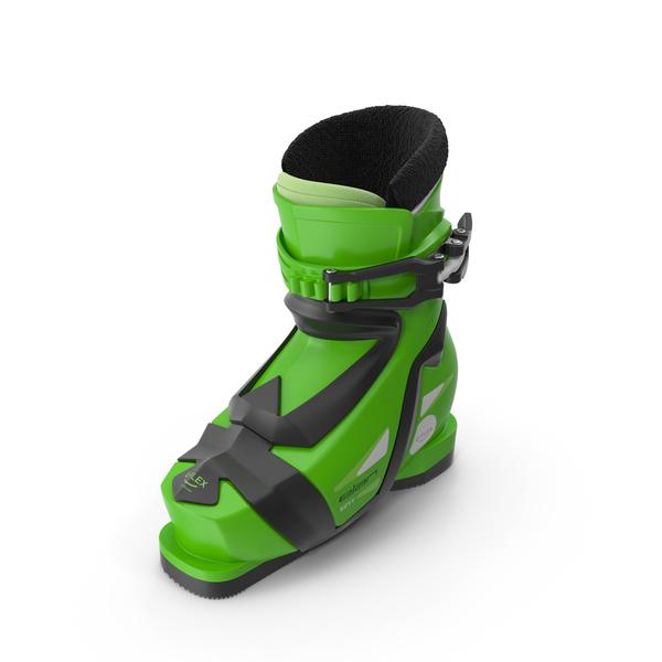Elan Kids Alpine Boot Left PNG & PSD Images