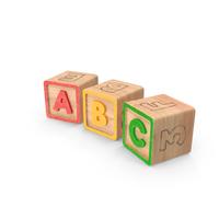 ABC Blocks PNG & PSD Images