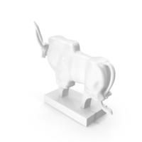 Sculpture African Buffalo PNG & PSD Images