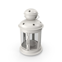 White Lantern PNG & PSD Images