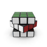 Rubiks Cube Turned PNG & PSD Images