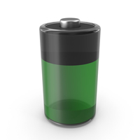 Glass Battery Icon PNG & PSD Images