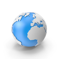 Stylized Globe PNG & PSD Images