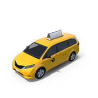 Modern New York City Taxi PNG & PSD Images