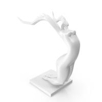 Female Mantis Sculpture PNG & PSD Images