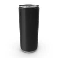 Black Can 250ml PNG & PSD Images