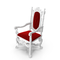 Baroque  English Armchair PNG & PSD Images