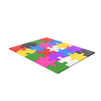 Colorful Puzzle PNG & PSD Images