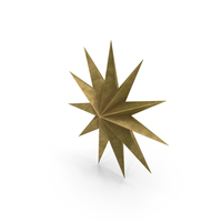 Large Star Ornament PNG & PSD Images