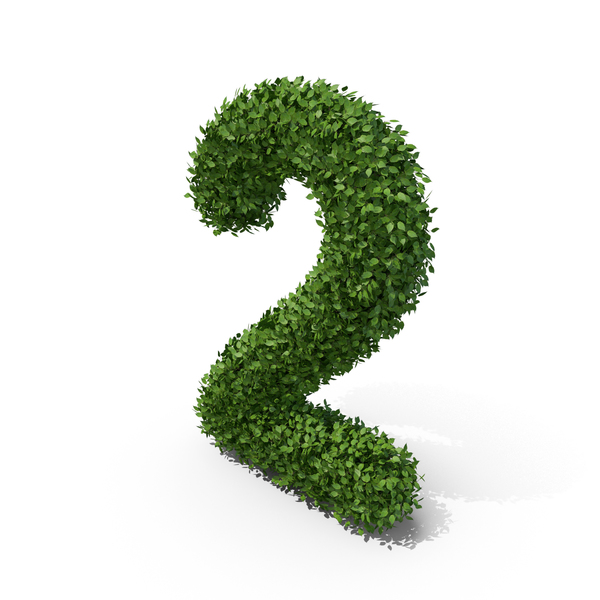 Hedge Shaped Number 2 PNG & PSD Images