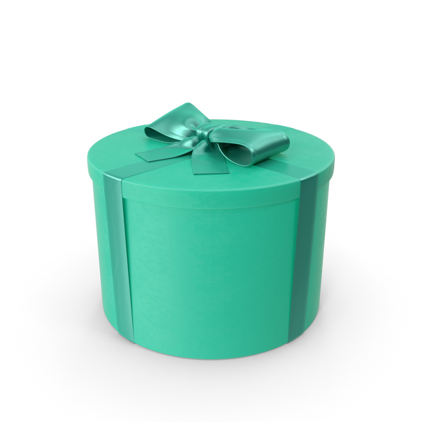 Teal Gift PNG & PSD Images