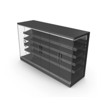 Viessmann TectoDeck Supermarket Refrigerated Cabinet PNG & PSD Images