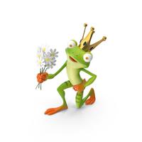 Cartoon Frog Prince PNG & PSD Images