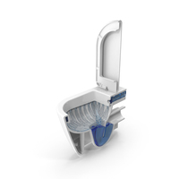 Toilet Bisection PNG & PSD Images