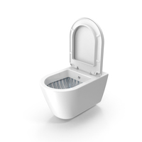 Wall Mounted Toilet PNG & PSD Images