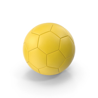 Yellow Soccer Ball PNG & PSD Images