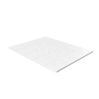 White Puzzle Pieces PNG & PSD Images