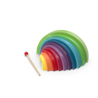 Rainbow Musical Toy PNG & PSD Images