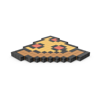 Pixelated Pizza Icon PNG & PSD Images